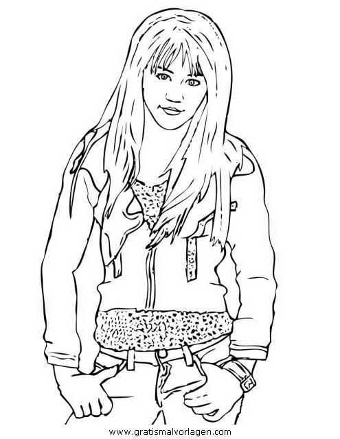 Fein Hannah Montana Malvorlagen Zum Ausdrucken Ideen - Beispiel ...
