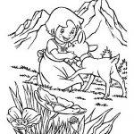 Heidi Malvorlagen Zum Ausmalen Fur Kinder