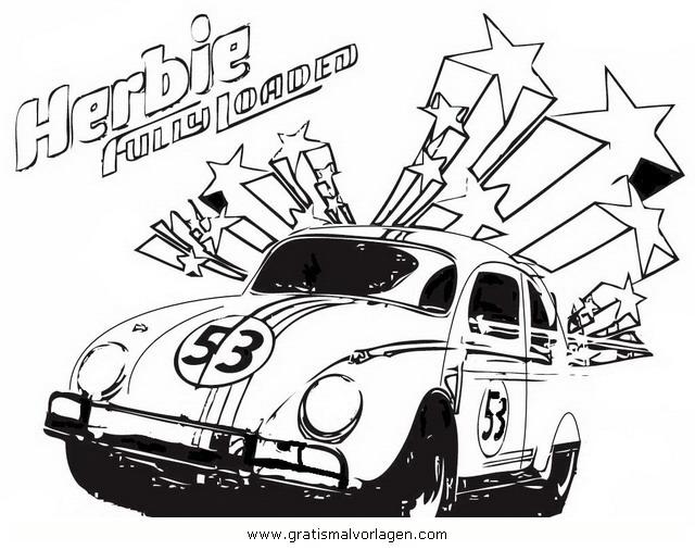 Herbie 1 Gratis Malvorlage In Beliebt05 Diverse