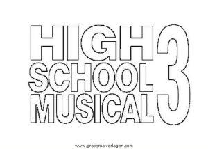 Malvorlage High School Musical high school musical 07