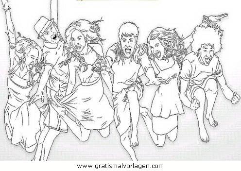 high school musical 13 gratis malvorlage in comic  trickfilmfiguren, high school musical - ausmalen