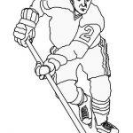 Hockey Malvorlagen Zum Ausmalen Für Kinder