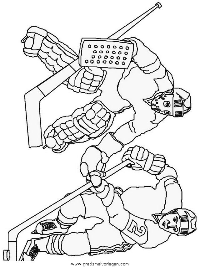 hockey 28 gratis malvorlage in hockey sport  ausmalen