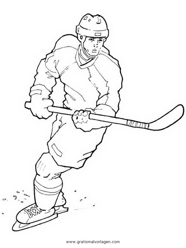 Hockey 4 Gratis Malvorlage In Sport Verschiedene