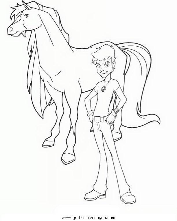 skylander coloring pages ninjini vs scarlet   horseland 05 gratis Malvorlage in Comic & Trickfilmfiguren ...