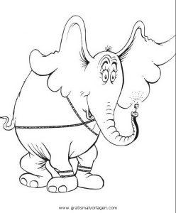 Malvorlage Horton horton 10