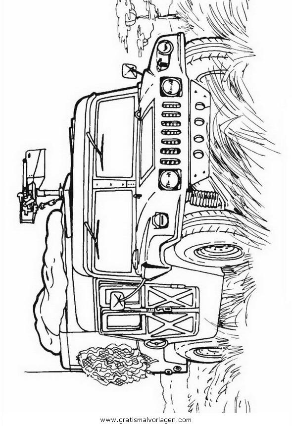 hummel panzer 06 gratis malvorlage in panzer
