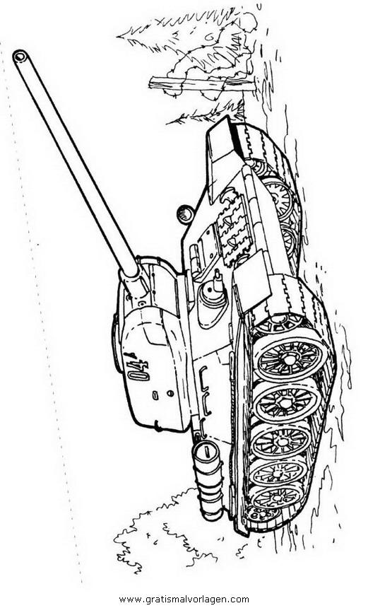 hummel panzer 10 gratis malvorlage in panzer
