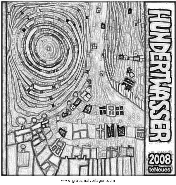 Malvorlagen Hundertwasser Kostenlos | My blog