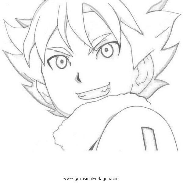 Sendung Maus 09 Gratis Malvorlage In Comic: Inazuma Eleven 09 Gratis Malvorlage In Comic