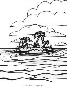Insel 10 Gratis Malvorlage In Diverse Malvorlagen Landschaft Ausmalen