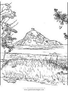 Insel 12 Gratis Malvorlage In Diverse Malvorlagen Landschaft Ausmalen