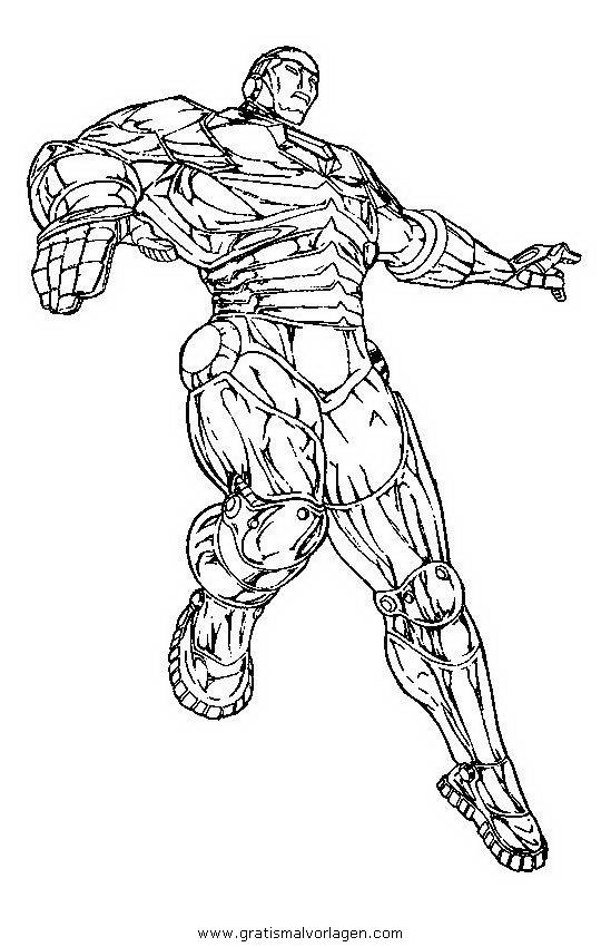 iron man 08 gratis malvorlage in comic  trickfilmfiguren