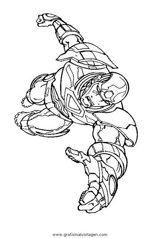 iron man 19 gratis malvorlage in comic  trickfilmfiguren