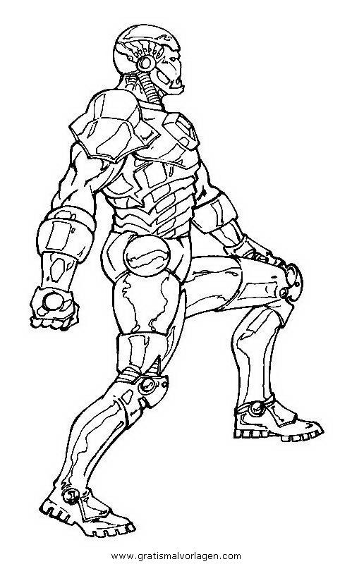 iron man 21 gratis malvorlage in comic  trickfilmfiguren