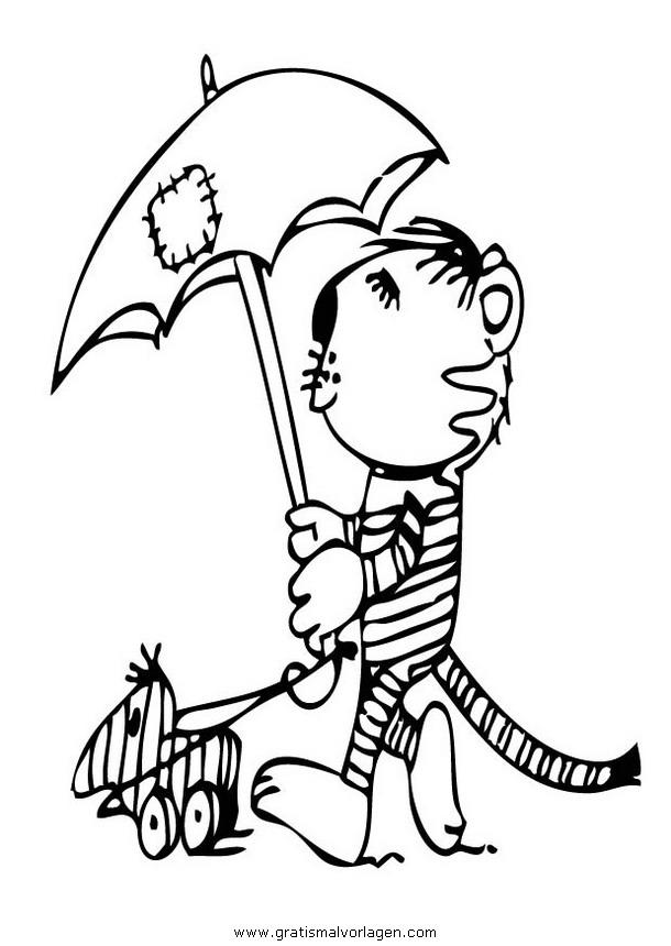 Janosch 24 Gratis Malvorlage In Comic Trickfilmfiguren Janosch