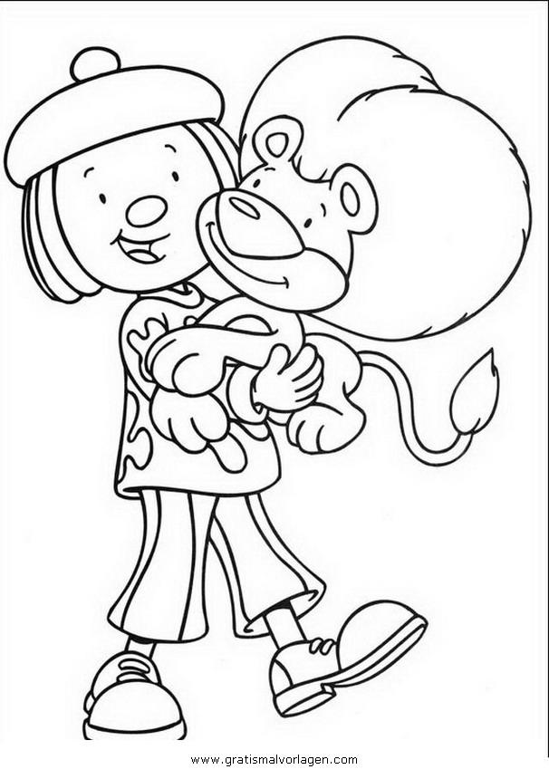 Rayman 11 Gratis Malvorlage In Comic Trickfilmfiguren: Jojo Circus 11 Gratis Malvorlage In Comic
