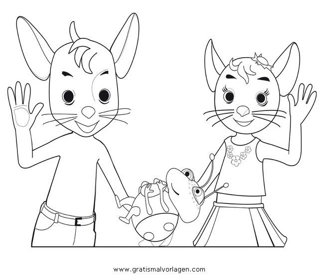 Jonalu 4 Gratis Malvorlage In Comic Trickfilmfiguren Jonalu