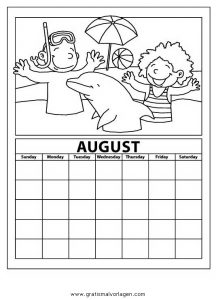 Malvorlage Kalender kalender 12
