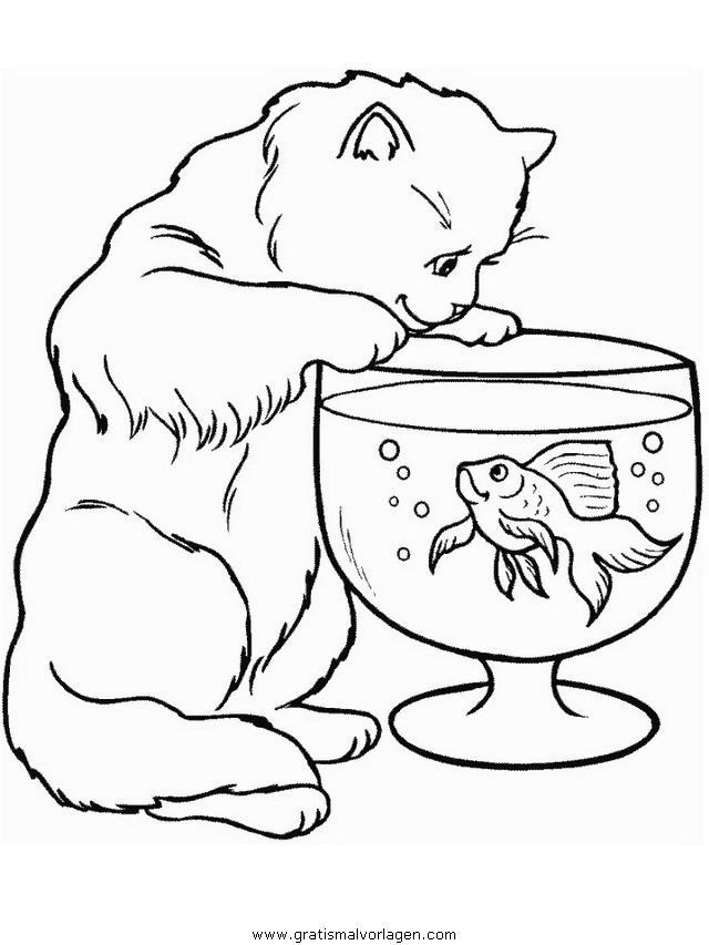 katzen 102 gratis malvorlage in katzen tiere  ausmalen