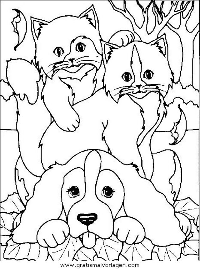 katzen 28 gratis malvorlage in katzen tiere  ausmalen