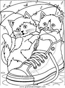 Katzen 30 Gratis Malvorlage In Katzen Tiere Ausmalen