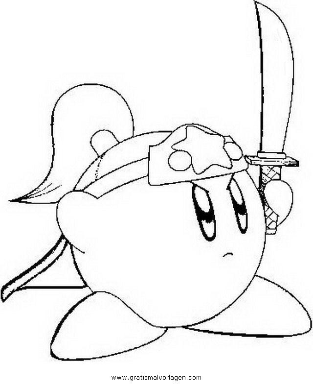 Kirby 2 gratis malvorlage in beliebt03 diverse - Stampare pagine da colorare ...