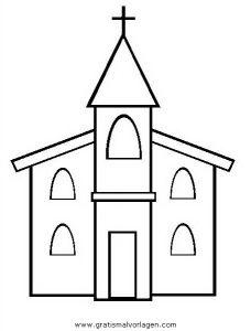 Malvorlage Kirche Gratis Malvorlagencr