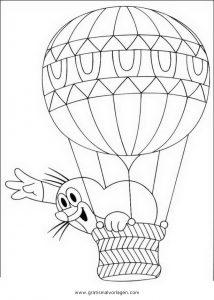 Kleine Maulwurf 13 Gratis Malvorlage In Comic Trickfilmfiguren