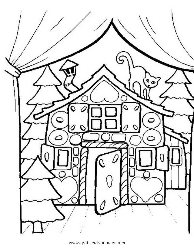 knusperhaus gratis malvorlage in beliebt09 diverse