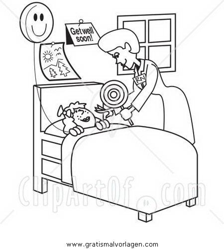 krankenschwester 16 gratis Malvorlage in Diverse Malvorlagen ...