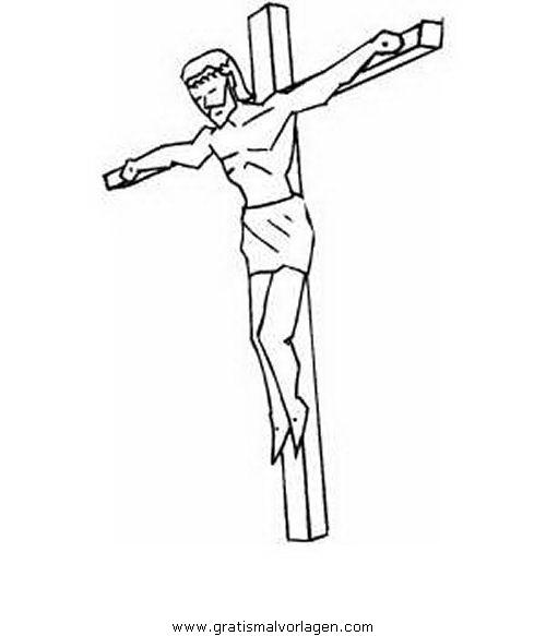 kreuze kreuzweg kreuz 01 gratis malvorlage in religionen