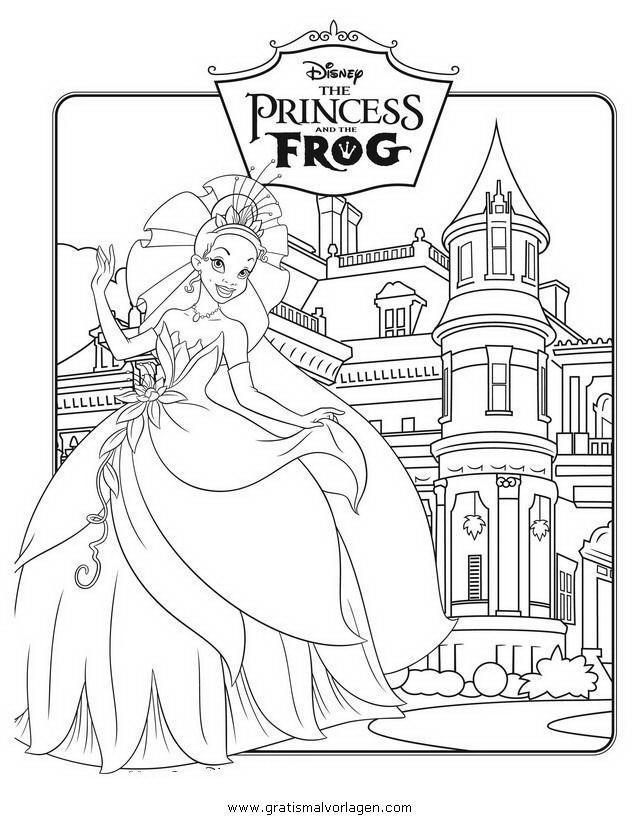 kuss den frosch 17 gratis malvorlage in comic