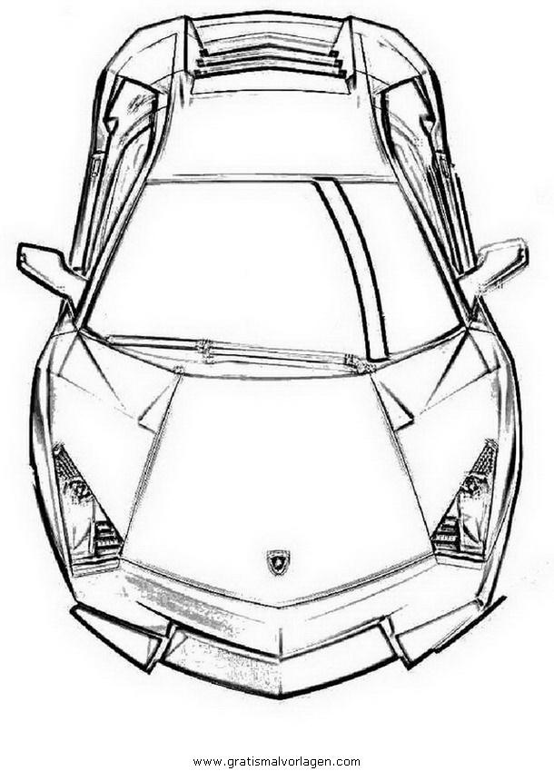 Lamborghini 02 Gratis Malvorlage In Autos2 Transportmittel Ausmalen