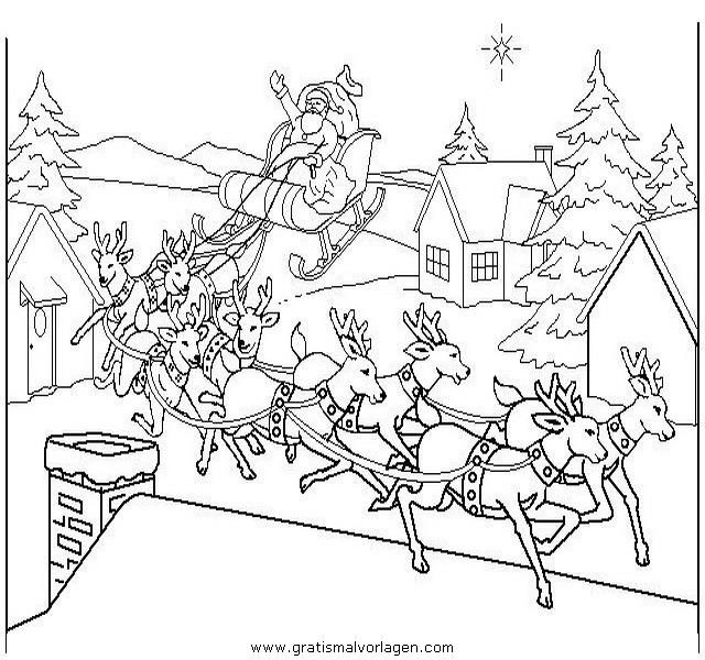 landschaften 40 gratis malvorlage in weihnachten