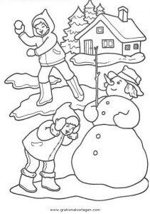 landschaften 54 gratis malvorlage in weihnachten
