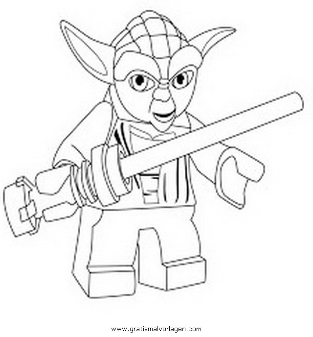 Ausmalbilder Ninjago Gesicht: Lego Star Wars Gratis Malvorlage In Comic
