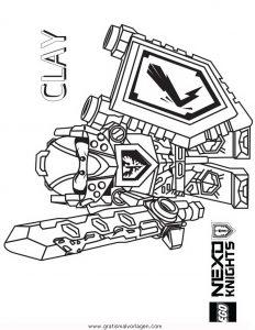 Lego Nexo Knights 24 Gratis Malvorlage In Comic Trickfilmfiguren