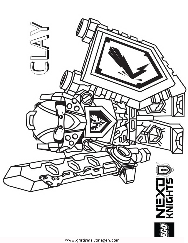 lego nexo knights 24 gratis malvorlage in comic
