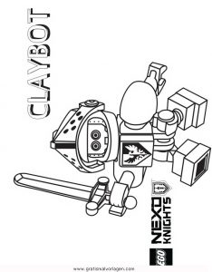 Lego Nexo Knights 25 Gratis Malvorlage In Comic Trickfilmfiguren