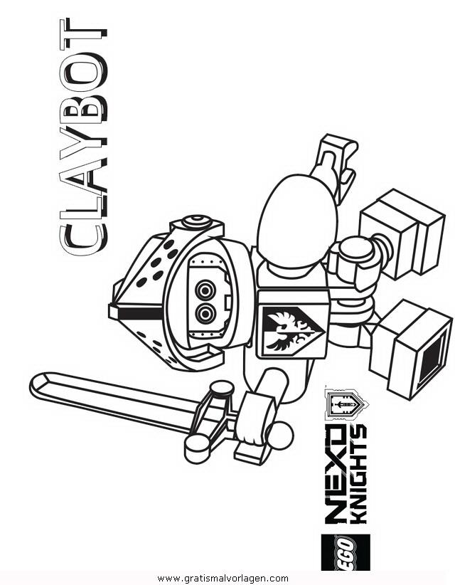lego nexo knights 25 gratis Malvorlage in Comic & Trickfilmfiguren ...