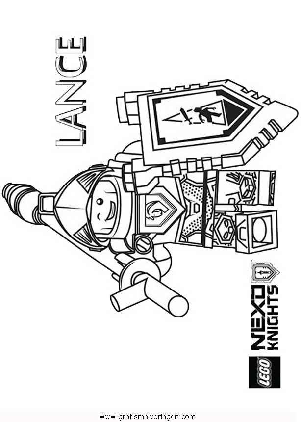 Lego Nexo Knights 36 Gratis Malvorlage In Comic