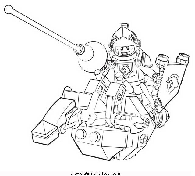 lego nexo knights 39 gratis malvorlage in comic