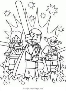 Lego Star Wars 01 Gratis Malvorlage In Comic Trickfilmfiguren