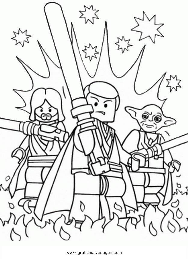 lego star wars 01 gratis Malvorlage in Comic & Trickfilmfiguren ...