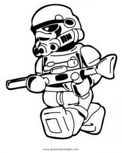 Lego Star Wars 04 Gratis Malvorlage In Comic Trickfilmfiguren