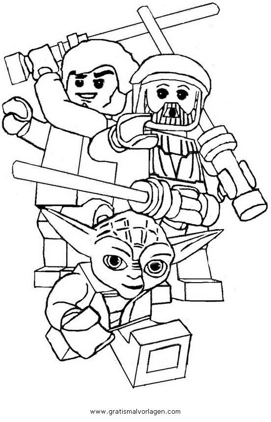 lego star wars 05 gratis malvorlage in comic