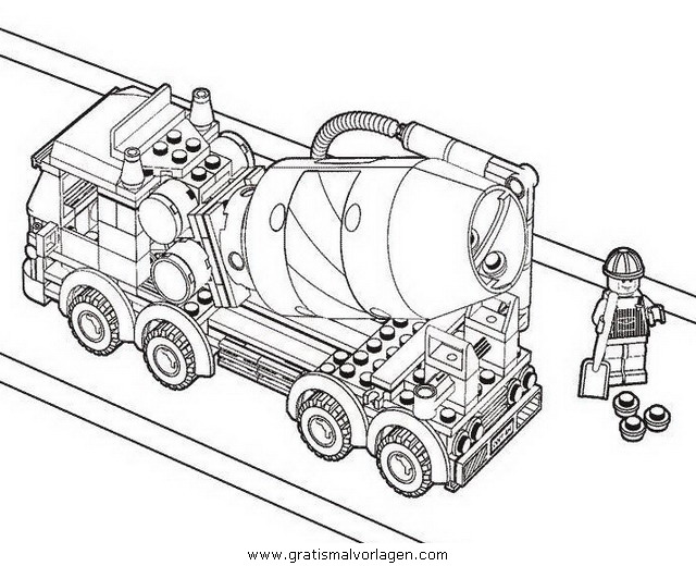 lego 03 gratis malvorlage in comic  trickfilmfiguren