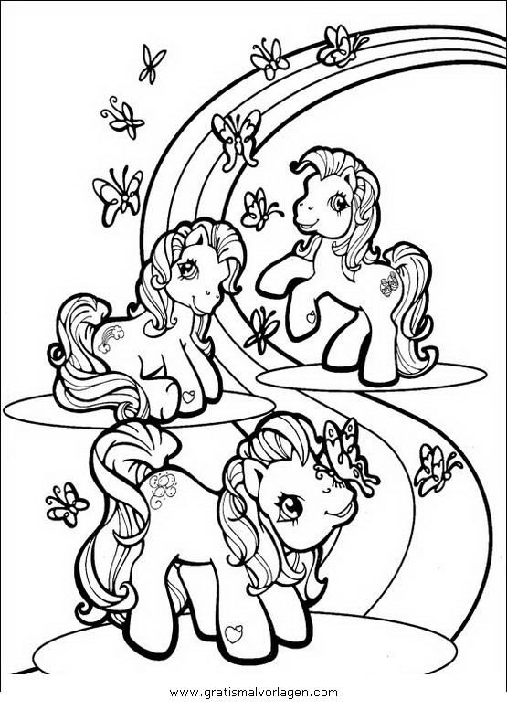 little pony 22 gratis malvorlage in comic