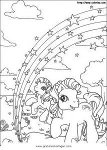 Little Pony 39 Gratis Malvorlage In Comic Trickfilmfiguren My